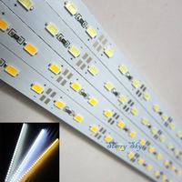 50m 50x 1m 5630 SMD LED bar light 100cm 72LEDs Super Bright rigid Hard Strip lamps 12V cool warm white Non-Waterproof free ship