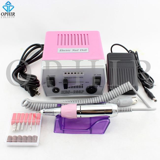 OPHIR Pro Electric Nail Drill Machine 30000RPM File Art Bits Nail Salon Acrylic Kit Polishing Machine Nail Tools_KD141P(110V)(China (Mainland))