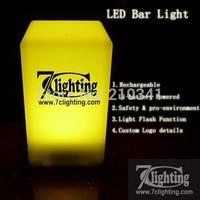 30units/Lot,Customized LOGO Club Lamp,LED Bar Cube Light 70x135x75mm,Rechargeable LED Candle Light,Night club Lamp