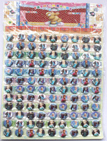 Wholesale -1 sheets 108 pcs Frozen Badge Button Pin 2.5CM party favor  Free Shipping