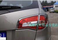 Free shipping! ABS chrome rear tail light lamp cover trim for RENAULT KOLEOS Renault SamSung QM5 2008 2009 2010 2011 2012
