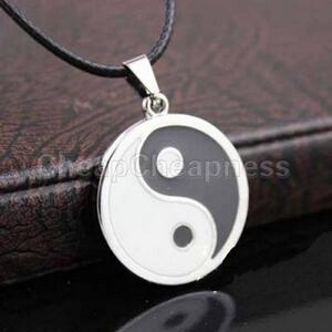 2014 New Vintage Yinyang Pendant Necklace Men Brand Novetly Men Necklace Designer Casual Cheap Men Jewelry