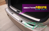 high quality  outer rear bumper guard plate 1pcs  for VW Volkswagen  golf 7  2014