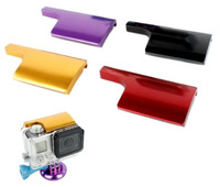 Color CNC Aluminum lock buckle for the housing Waterproof Case of Gopro Hero 3+