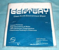 290 x 300 mm Clean room Environment wipes, wiper, 50pcs