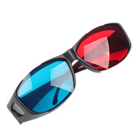 Top Quanity  Red Blue Computer TV Three-dimensional Glasses For 3D Movies