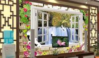 Modern 3d wallpaper  Environmental Mural  wall paper livingroom wallpaper wallcovering the fairy tale background homedecoration