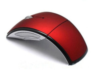 2.4G Folding wireless mouse 10M working distance+free shipping