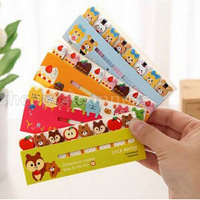 2014 New Cute Cartoon Printed Memo Pad For Girl/Fashion Candy Color Girl School Memo Pad/Cheap School Supplies