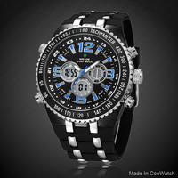 Hardlex Luxury Brand Watch Analog Men's Wristwatch WEIDE Stainless Steel watch 6colors Discount Quartz fashion watches New 2014