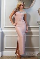 2014 New Arrival custom chiffon prom dress sexy tight
