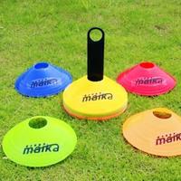 Messon Speed Agility Training Saucer Disc Cones 10pcs /set Sport Field Training Equipment