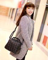 2014 trend female  fashion vintage fashion plaid messenger bag handbag