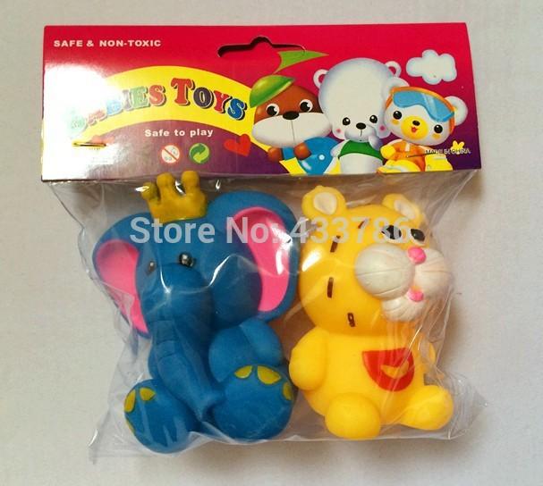 Accesorios De Baño Tiger: de la muchacha de toy Squeaky 3 bag/set juguetes de juguete bin fiable