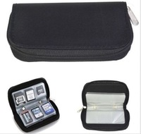 1pcs/lot 22 slots Portable Memory Card Storage Carrying Bag Pouch Case Holder For SIM CF SD SDHC MS DS
