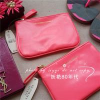 2014 women's handbag fashion neon powder coin purse card holder debris bag small portable bag
