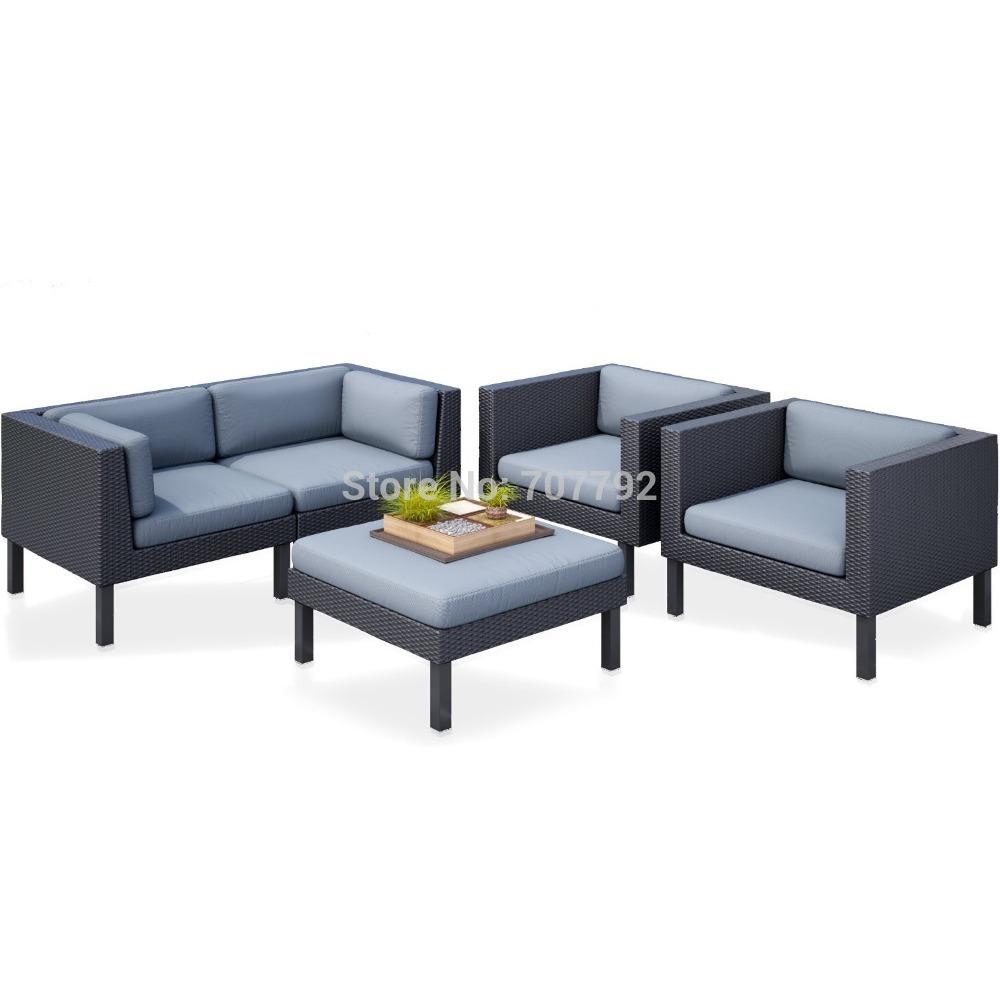 Leiner Krems Gartenmobel :  Lounge design im freien billige rattan garten sofa(China (Mainland