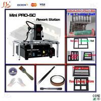 2014 HOT mini ir-pro-sc BGA rework machine,infrared bga reablling machine,bga motherboard repair station with bga kit