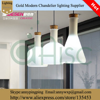 2014 Modern Fashion Brief White Magic Bottle Pendant Light For Bar room, restaurant