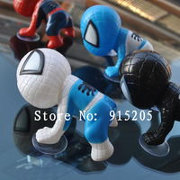 Spider-Man cartoon car accessories car pendant ornaments fun decorations doll