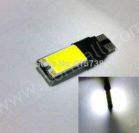 2pcs W5W T10 LED COB High Power White Car Light Canbus Error DC12V Parking Backup Reverse For Brake Lamp Epistar chip