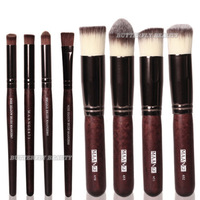 Details about 8pc Makeup Tool Foundation Blush Powder Brushes Kit Eye Nose Shadow Shader Brush
