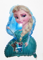 2014 NEW Frozen Cartoon Character Balloons Wholesale Kids Party Decoration Foil Balloons