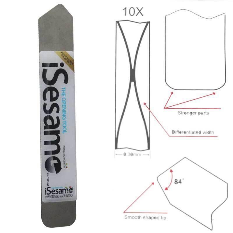 2014 Isesamo soft thin Styles repair pry Mobile computer Screen to Opening Tools Steel Blade(China (Mainland))