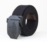 Webbing Belt Tactical Belt Fashion Militry Canvas belts 44inches 24colors free shipping