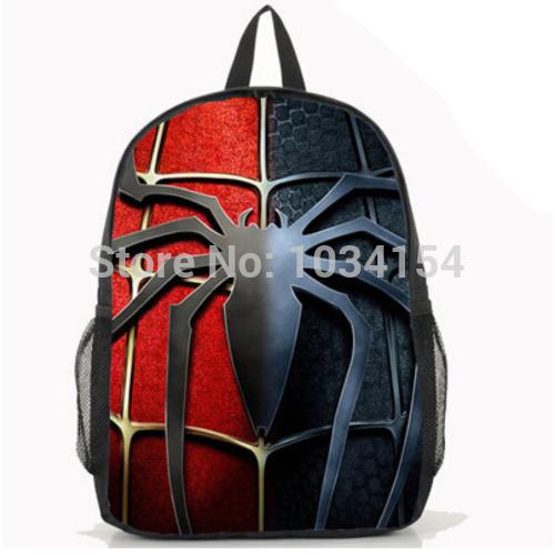 Bingo Pop filme The Amazing Spider Man crianças saco de escola menino e menina ombros mochila(China (Mainland))