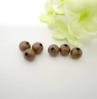 6mm Jewelry Accessories Metal Round Spacer Beads For Jewelry Making Antique Copper Plated 800pcs