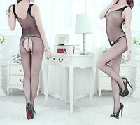 2014 New Women Hot Sexy Lingerie Mesh Bodysuits  Body Pantyhose Nightwear P132