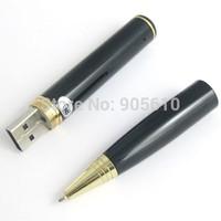 High quality Free shipping 4GB Pen Camera High Resolution Mini USB Camcorder Pen camera720P AVI 4gb mini dv!
