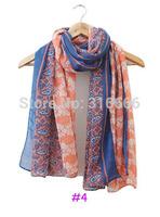 2014 fashion women summer spring scarf,Free shipping,muslim hijab,cashew nut print,Floral hijab,shawls and hijabs,designer scarf