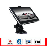 "7"" Car vehicle GPS Navigation HD screen portable gps 4GB 128MB FM 800x480 2014 new map Czech\Hebrew\Bulgarian\Polish\Spanish"
