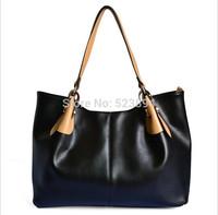 freeshipping 2014 New Simple Women's Bag Leather handbag Women's shoulder bag women messenger bags women leather handbags
