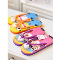 Summer cartoon flat bottom slippers flip flops T-001