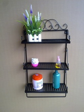 wrought iron wall shelves promotion
