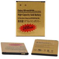 OEM Cell phone Battery For Galaxy S3 SIII MINI i8190 Ace 2 i8160 2450mAh
