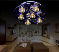 Absorb dome light modern crystal lamps sitting room the bedroom lamp restaurant lighting