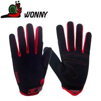 ride gloves full finger  male breathable slip-resistant gloves fitness sports summer bike cycling gloves