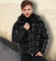 New arrivals popular men thickening down coat short design male white duck down jacket designer solid clothing winter MC1054