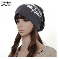 Hot Selling Korea Knited Unisex Fashion Baggy Beanie Hat Jersey Skull Sport Hat WIth English Words