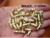 5 * 18MM cylindrical hinge hardware support gift boxes hinge cylinder alloy hinge