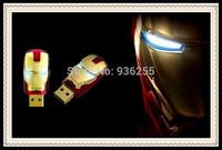 Iron Man USB flash drive 64GB memory stick gift usb stick gifts Ironman pend drive pendrive external storage 32GB 16GB 8GB 128MB