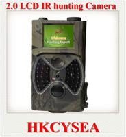 Free Shipping hunting camera New HD Wildlife Digital Infrared Trail Camera 2.0'' LCD 12MP hunting animal equipments