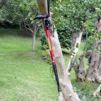 Trekking Hiking Stick Pole alpenstock Adjustable telescoping Anti Shock Nordic Walking mountaineering Aluminum grips