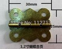 Butterfly wooden wine box hinge metal hinge crafts flat hinge hinge 25 * 30MM