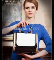 2014 women  leather handbags fashion women messenger British style handbag brand casual cross body  vintage shoulder bag