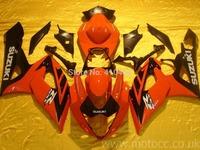 Motorcycle Fairing kits for SUZUKI GSXR1000 K5 05 06 GSXR1000 2005 2006 Popular red black ABS Fairings set+7gifts SX19